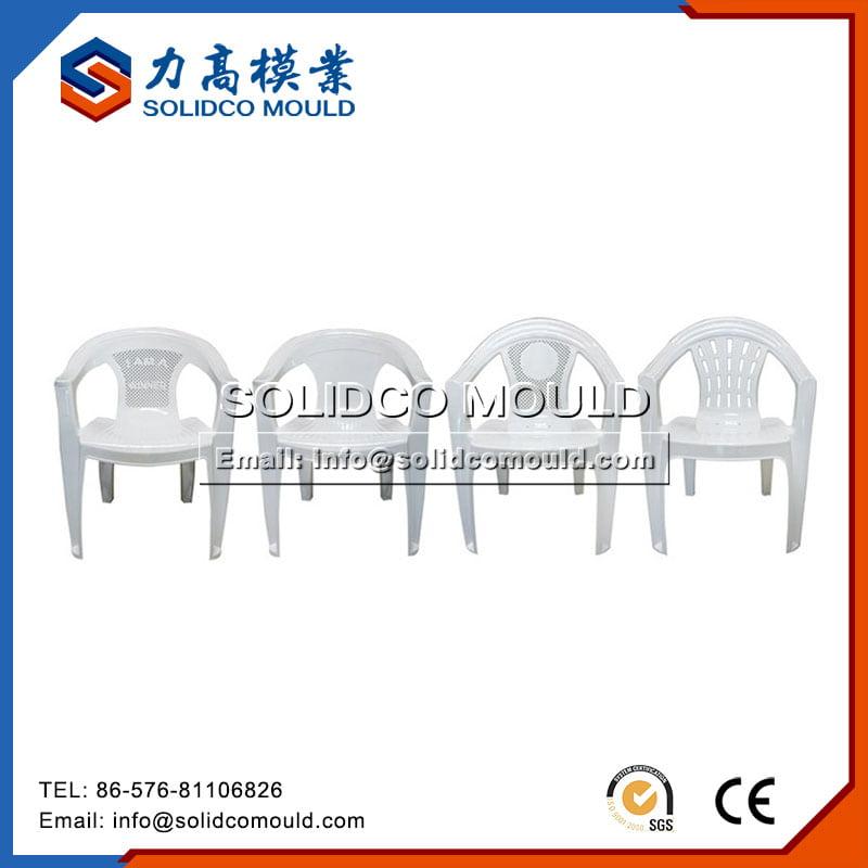 塑料椅模具1